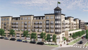 Read more about the article Five-story, 230-unit apartment building with grocery planned at Cretin-Ford Pkwy.