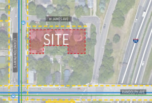 Read more about the article Revised plan for James-Lexington apartments recommended for approval